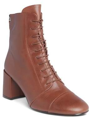 Whistles Women's Ruben Lace-Up Boots