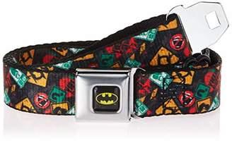 Buckle-Down Men's Seatbelt Belt Batman Two-Face Kids