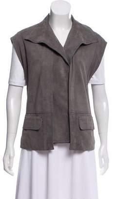 Vince Suede Leather Vest