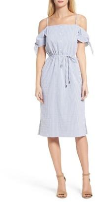 Women's Julia Jordan Off The Shoulder Dress $138 thestylecure.com