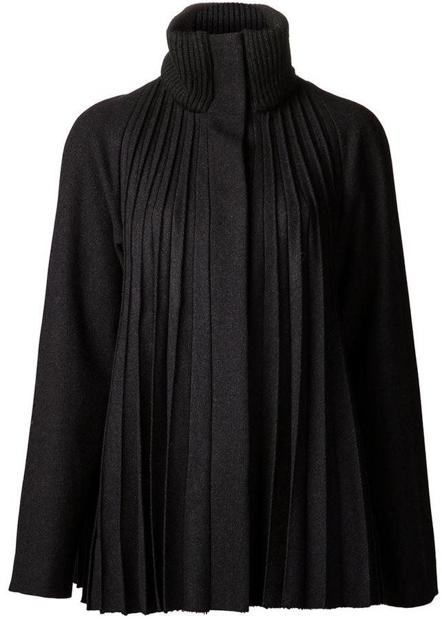 Maison Martin Margiela pleated coat