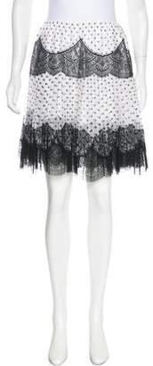 Meadham Kirchhoff Printed Silk Skirt