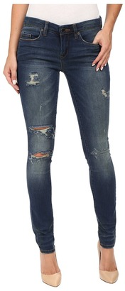 Blank NYC Denim Distressed Skinny in Insta Girl $88 thestylecure.com