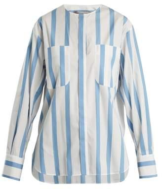Sportmax Tequila Shirt - Womens - Blue Stripe