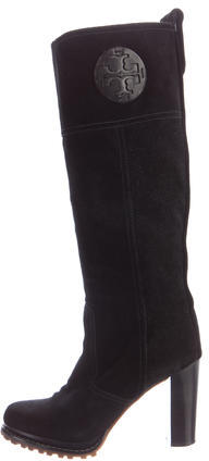 Tory BurchTory Burch Suede Knee-High Boots