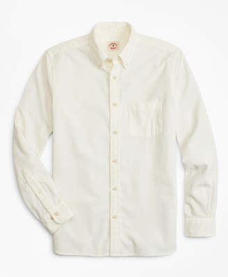 Brooks Brothers Garment-Dyed 21-Wale Corduroy Sport Shirt
