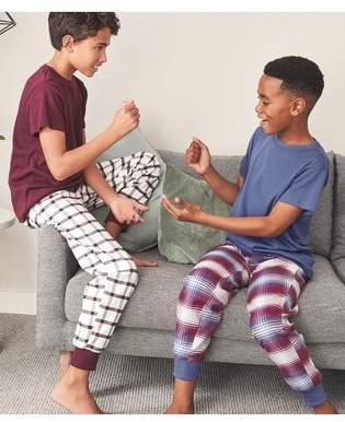 Next Boys Multi Check Woven Pyjamas Two Pack (3-16yrs)