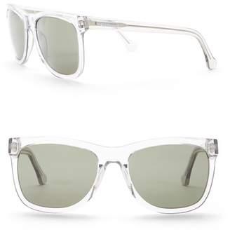 Balenciaga PARIS 56mm Acetate Square Sunglasses