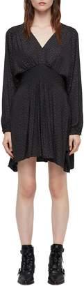 AllSaints Nichola Leopard Print Dress