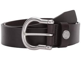 Southern Tide Leather Shackle Belt