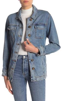 Free People Heritage Belted Denim Jacket