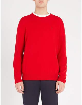 Polo Ralph Lauren Embroidered-logo fine-knit cashmere jumper