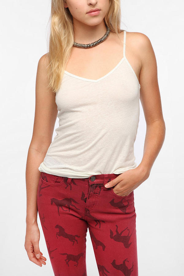Urban Outfitters Coincidence & Chance V-Neck Triblend Cami