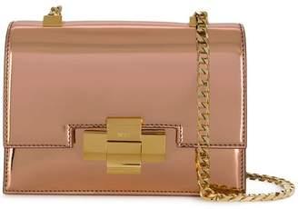 No.21 metallic leather mini alice bag