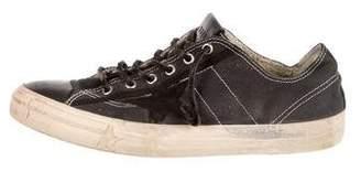 Golden Goose VStar 2 Distressed Sneakers