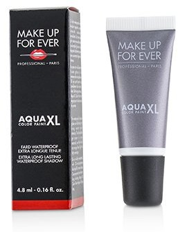 Make Up For Ever Aqua XL Color Paint Waterproof Shadow - # I-12 Iridescent Steel Gray 4.8ml/0.16oz
