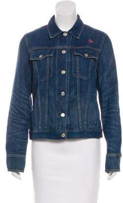 Rag & Bone Embroidered Denim Jacket