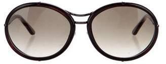 Tom Ford Mia Round Sunglasses