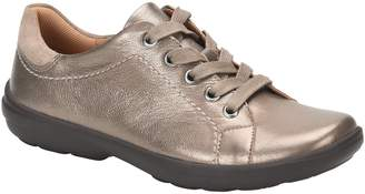 Comfortiva Leather Lace Up Sneakers - Reston