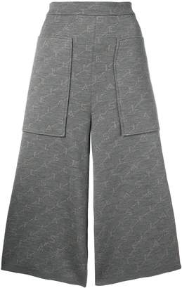 Stella McCartney monogram knit trousers