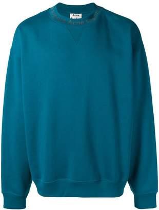 Acne Studios Flogho iconic sweatshirt