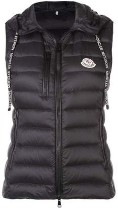 Moncler hooded padded waistcoat
