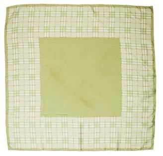 Burberry Nova Check Silk Scarf