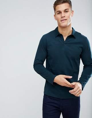 Weekday Pop Long Sleeve Polo Shirt