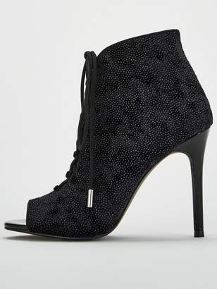 22759772b6 Very Faith Lace Up Shoe Boot - Black
