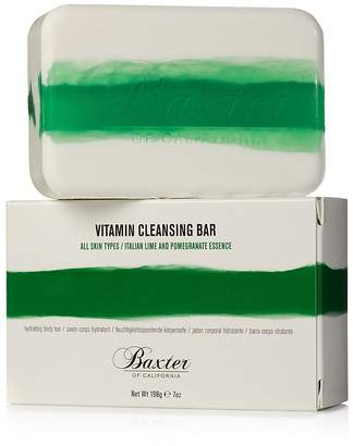Baxter of California Vitamin Cleansing Bar, Italian Lime & Pomegranate