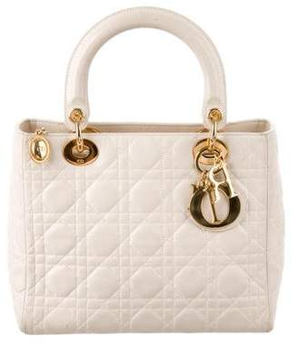 Pre Owned At Therealreal Dior Medium Lady Bag