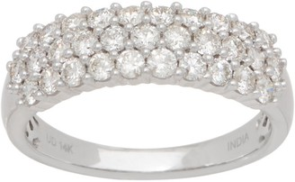 Affinity Diamond Jewelry Affinity Diamond 14K Gold Band Ring, 1.00 cttw
