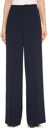 Derek Lam Tuxedo Stripe Wide Trousers $1,650 thestylecure.com