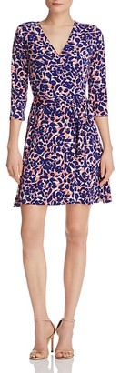 Leota Perfect Wrap Mini Dress $148 thestylecure.com