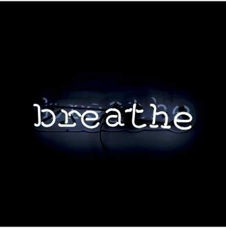 Oliver Gal Gallery Breathe Neon Sign