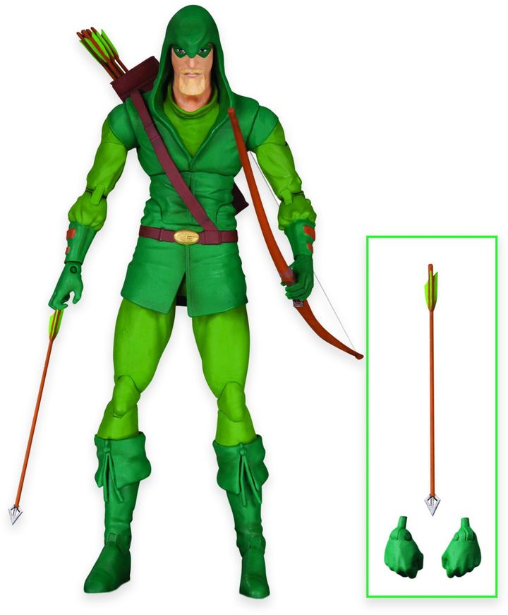 DC ComicsTM Icons Green Arrow Longbow Hunter Action Figure