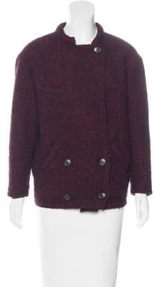 Etoile Isabel Marant Double-Breasted Knit Coat