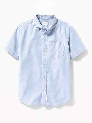 Old Navy Lightweight Built-In Flex Uniform Oxford Shirt for Boys