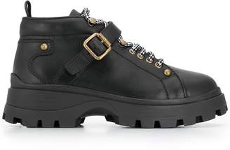 Miu Miu military inspired ankle boots