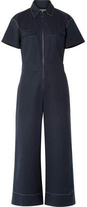 Elizabeth and James Morrison Cotton-blend Jumpsuit - Navy