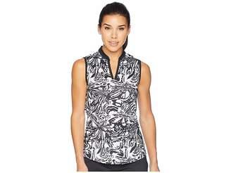 adidas Printed Sleeveless Polo Women's Sleeveless