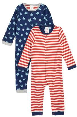 Boden Mini 2-Pack Rompers