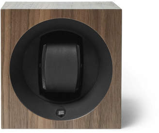 Linley - Henley Walnut Wood Watch Winder - Brown