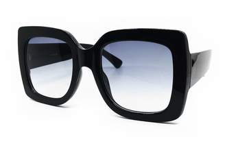56a1318eb484 O2 Eyewear 8214 Premium XXL Women Brand Designer Square Bold Style Thick  Frame Candy Fashion Sunglasses