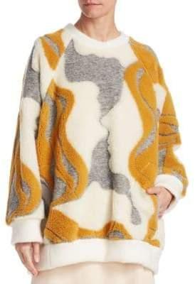 Chloé Jacquard Long-Sleeve Sweater