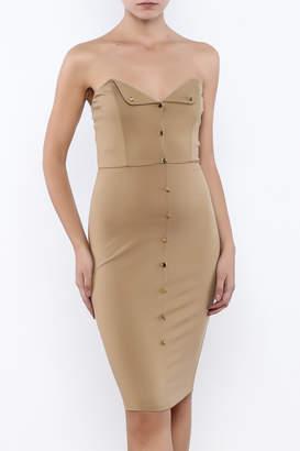 Good Time Strapless Bodycon Dress