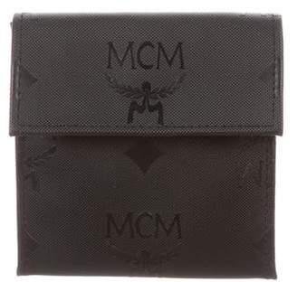 MCM Visetos Nylon Coin Pouch