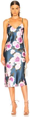 Fleur Du Mal Silk Bias Dress