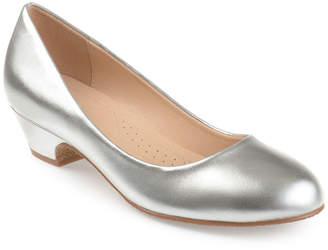 Journee Collection Womens Saar Pumps Peep Toe Block Heel
