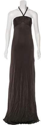 Robert Rodriguez Sleeveless Evening Dress